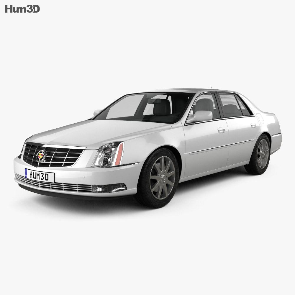 cadillac dts 2011 3d model vehicles on hum3d. Black Bedroom Furniture Sets. Home Design Ideas