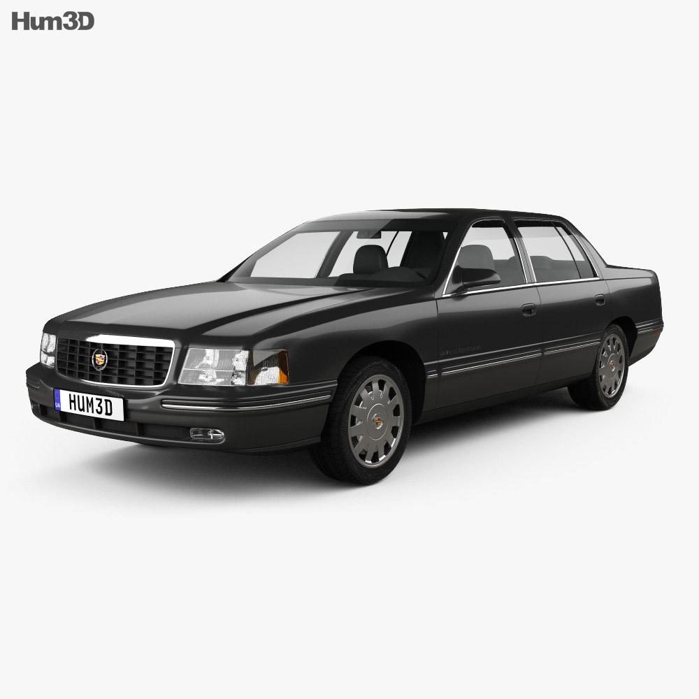 Cadillac DeVille Concours 1997 3d model