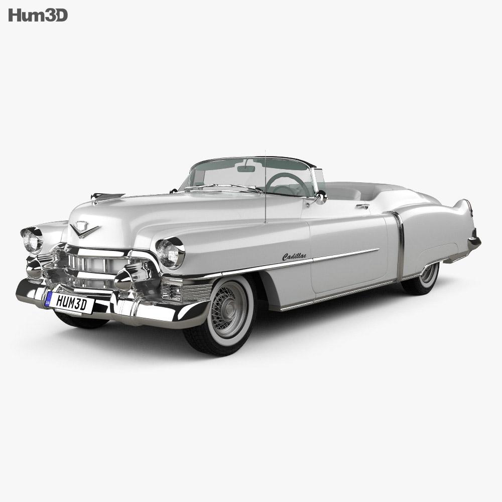 Cadillac Eldorado Convertible 1953 3d model