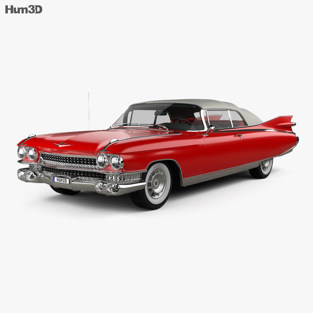 Cadillac Eldorado Biarritz convertible 1959 3d model