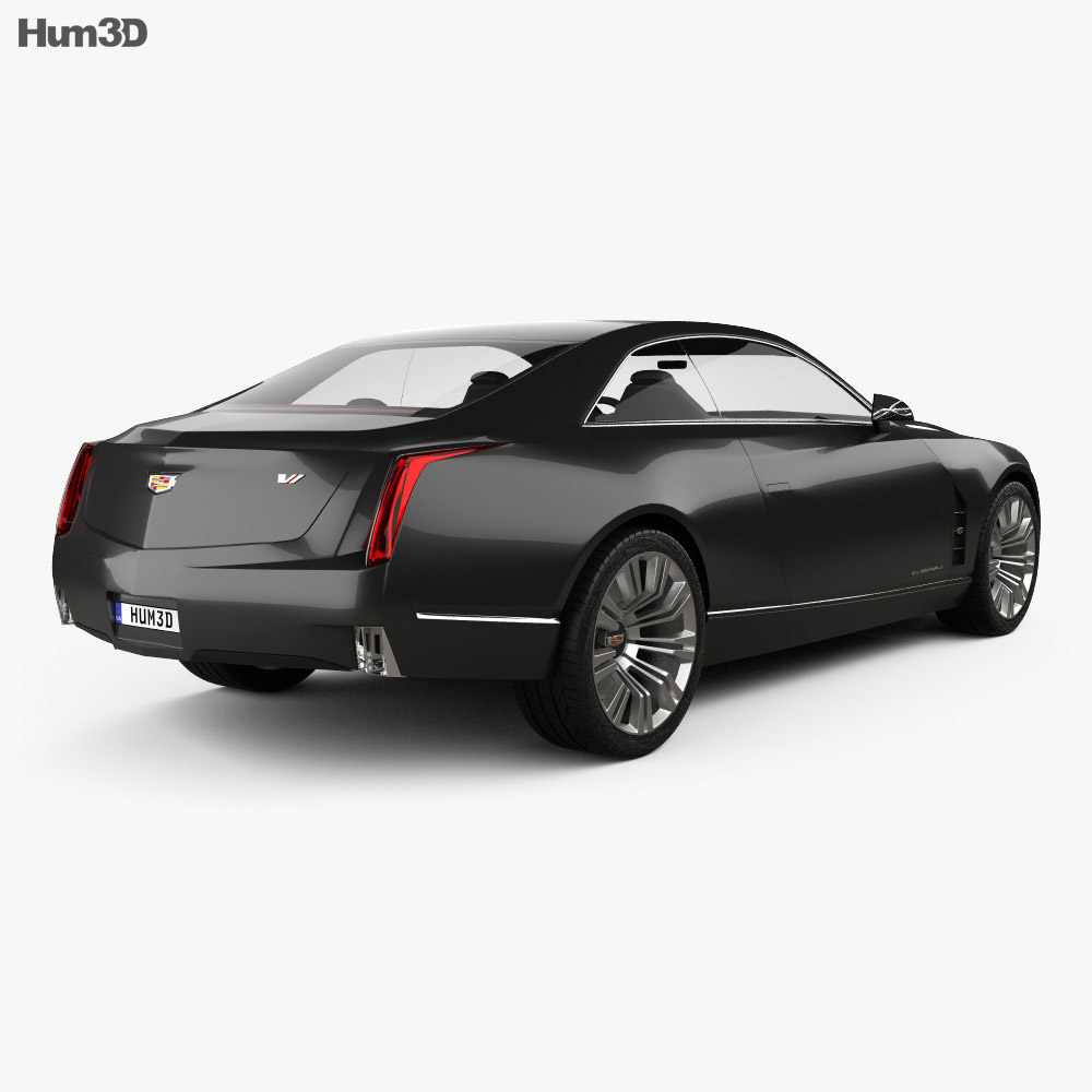 Cadillac Elmiraj 2013 3d model