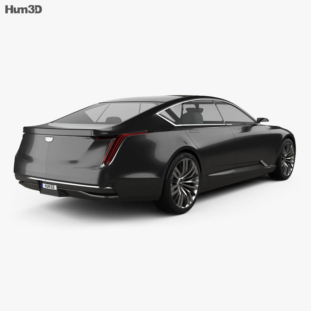 Cadillac Escala 2016 3d model
