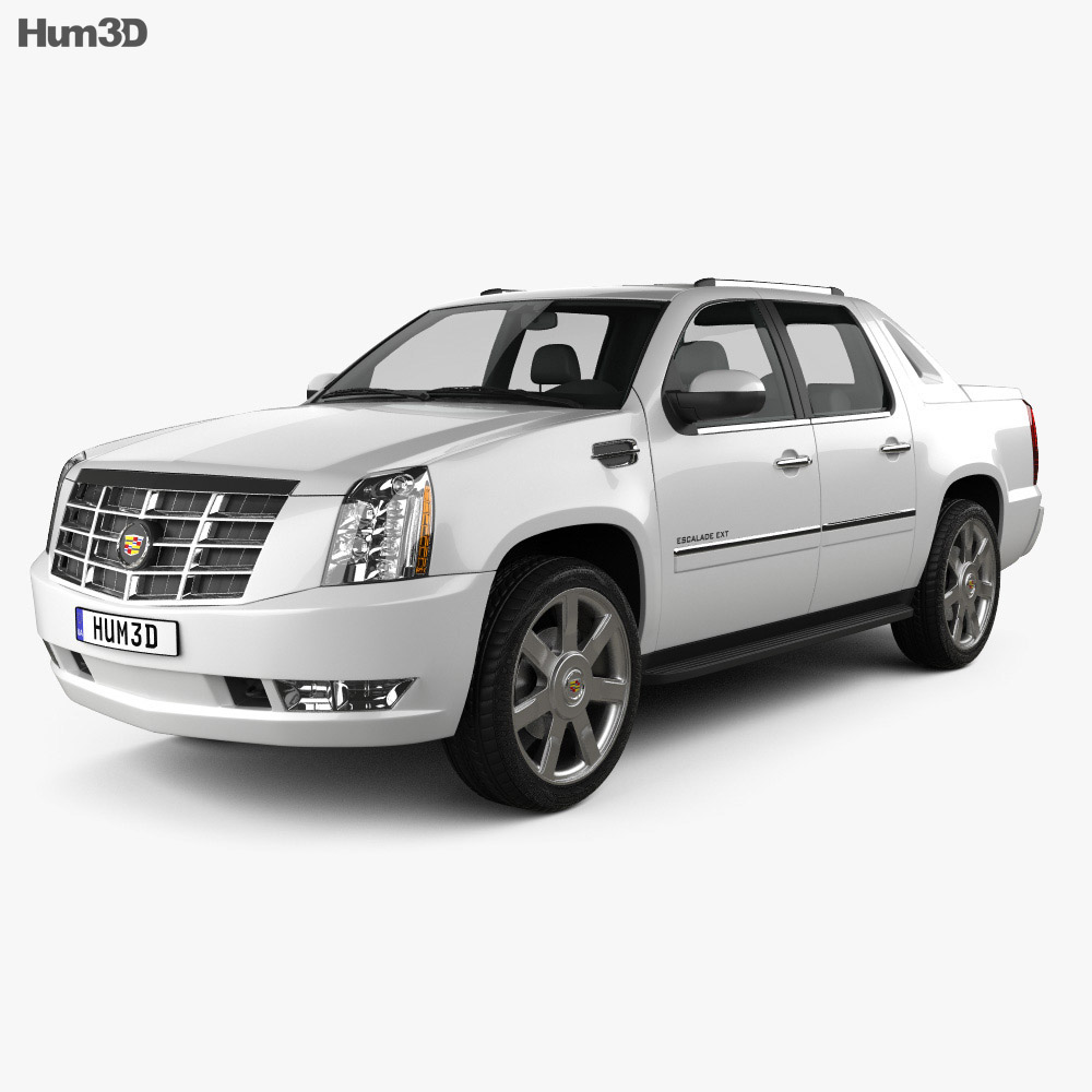 Cadillac Escalade EXT 2011 3D Model
