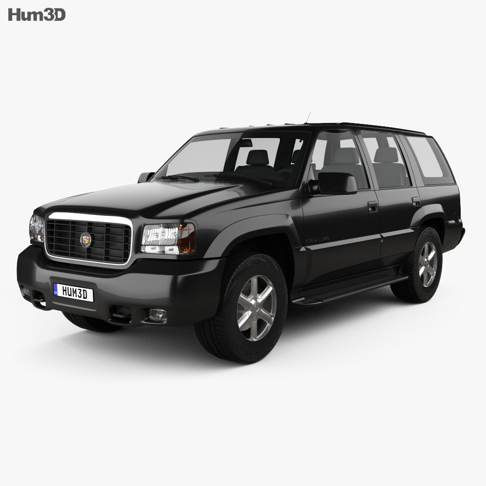 Cadillac Escalade 1999 3d model