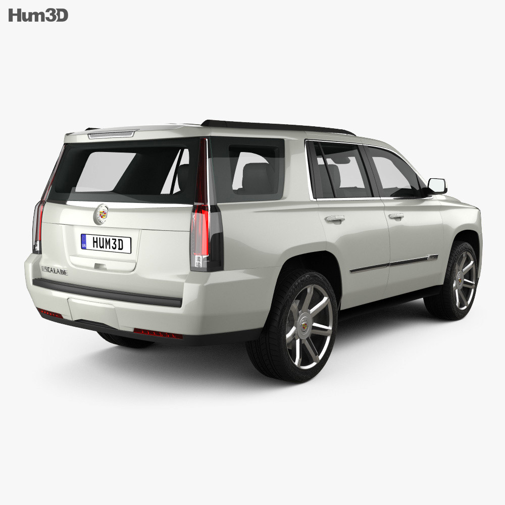 Cadillac Escalade 2015 3d model