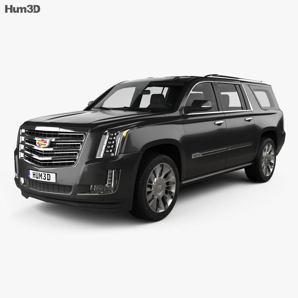 Cadillac 3D Models  Hum3D