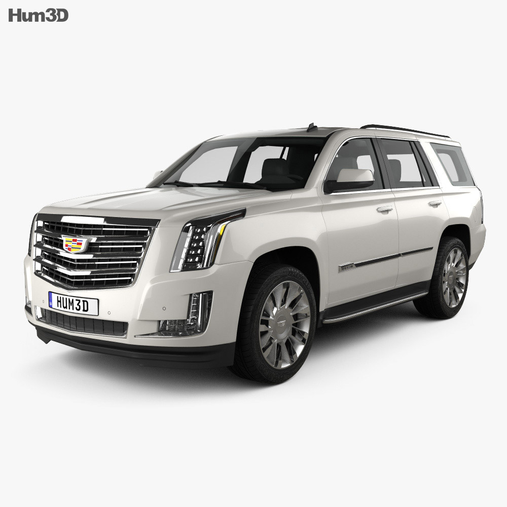 Cadillac Escalade (EU) 2015 3d model