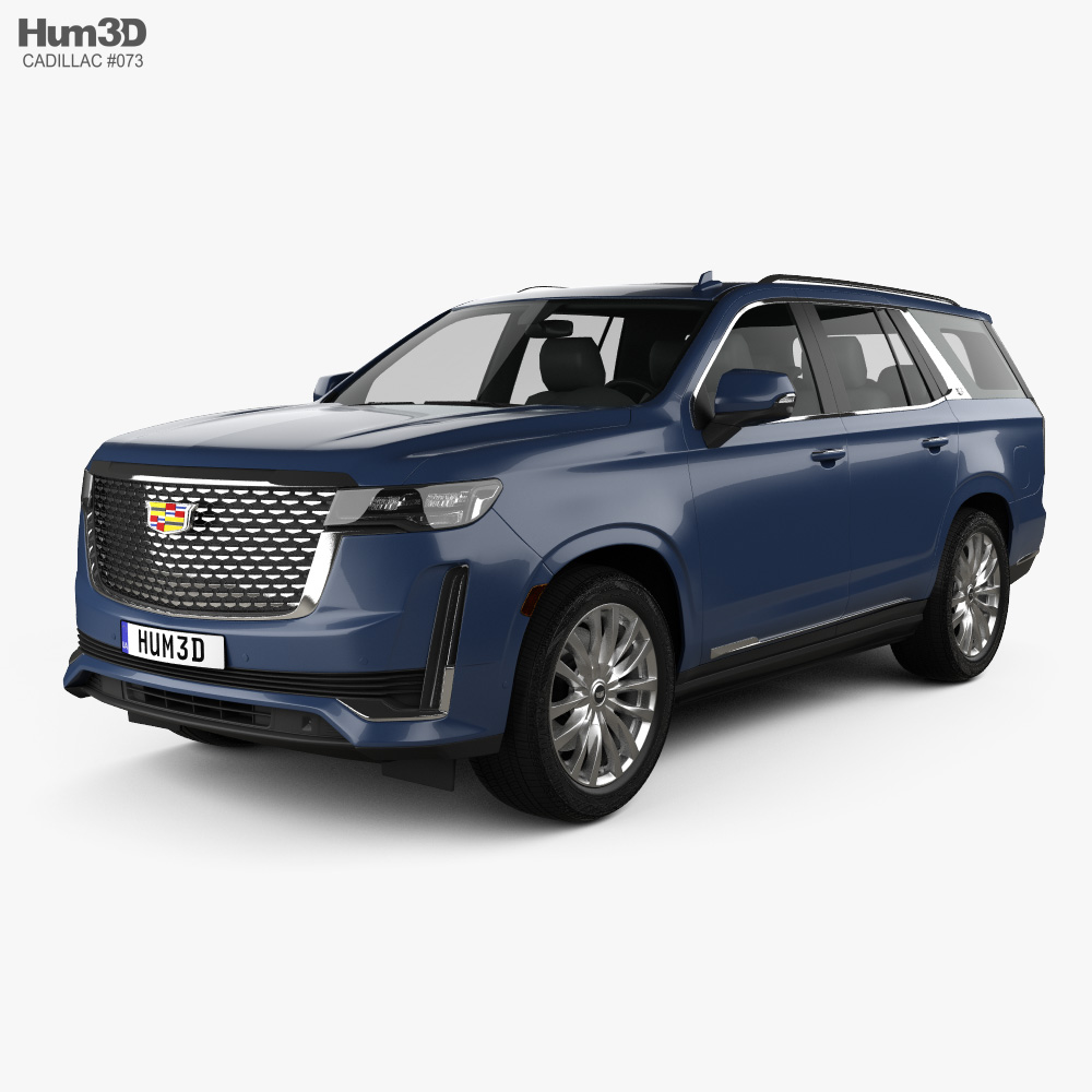 Cadillac Escalade Luxury 2021 3d model