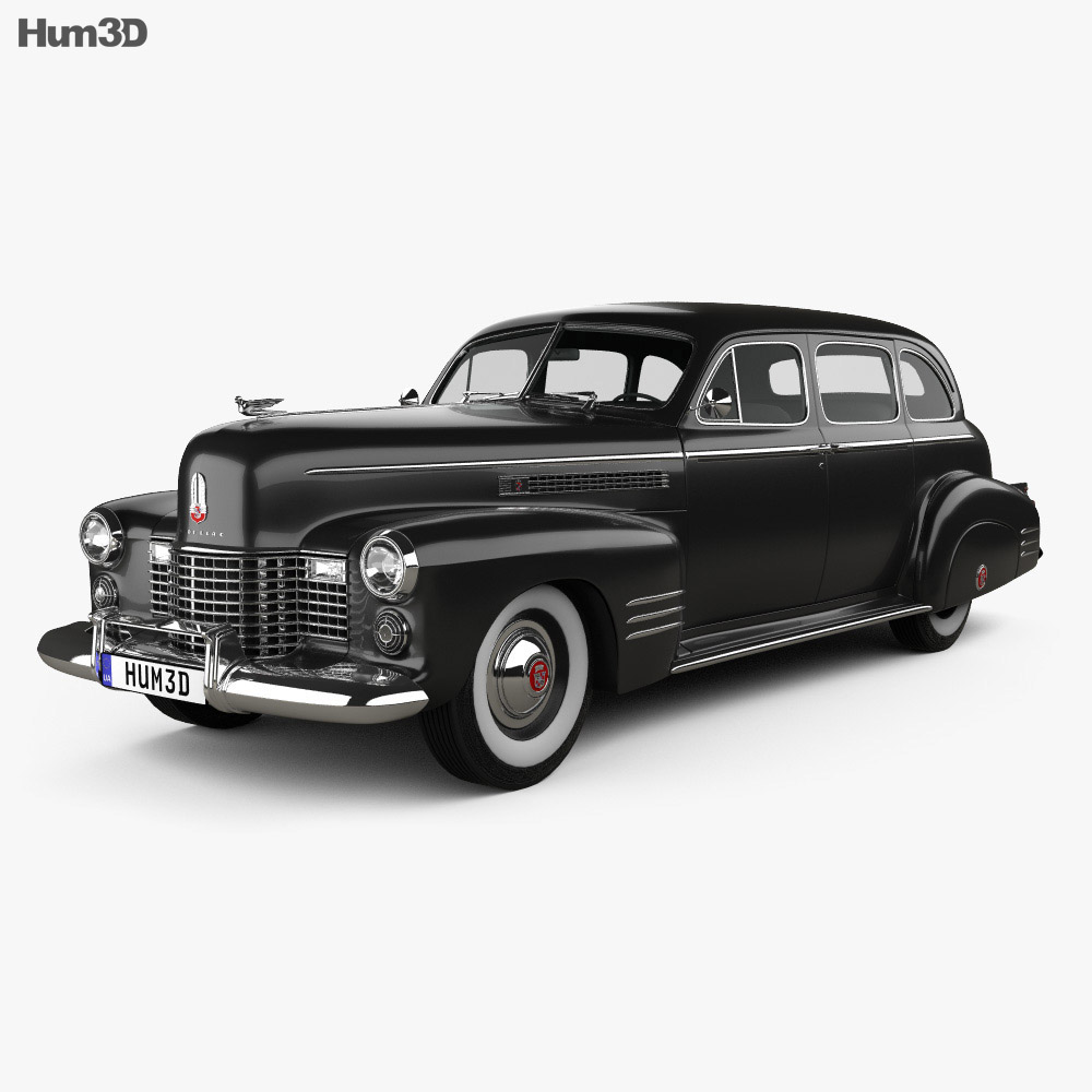 Cadillac Fleetwood 75 touring sedan 1941 3d model