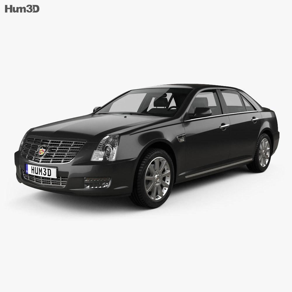 Cadillac SLS 2009 3d model