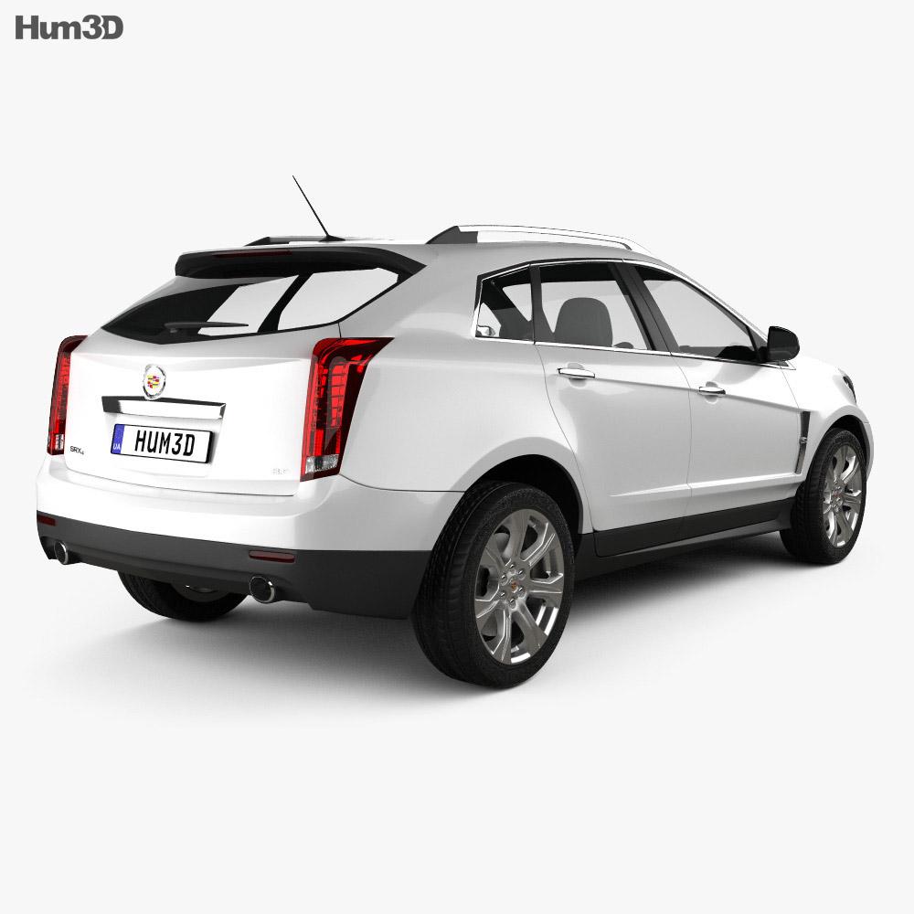 Cadillac SRX 2013 3d model