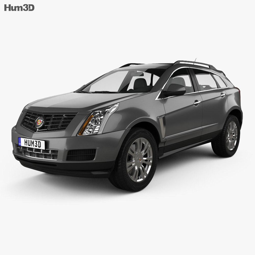 Cadillac Srx: Cadillac SRX Base 2010 3D Model