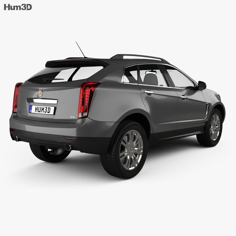 Cadillac SRX Base 2010 3d model