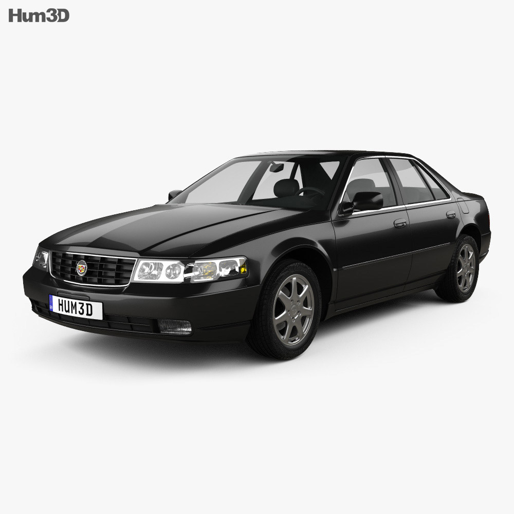 Cadillac Seville STS 1998 3d model