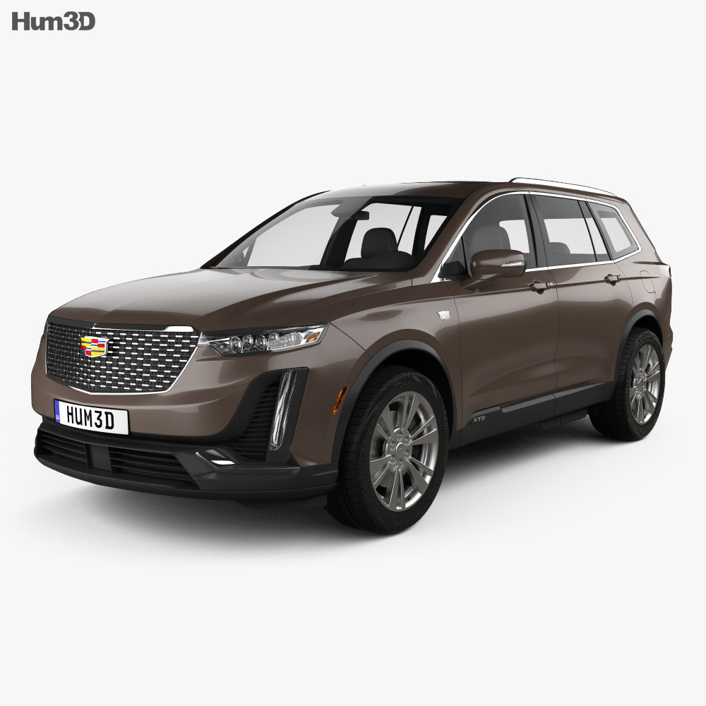 Cadillac Xt6 Luxury 2020 3d Model Vehicles On Hum3d