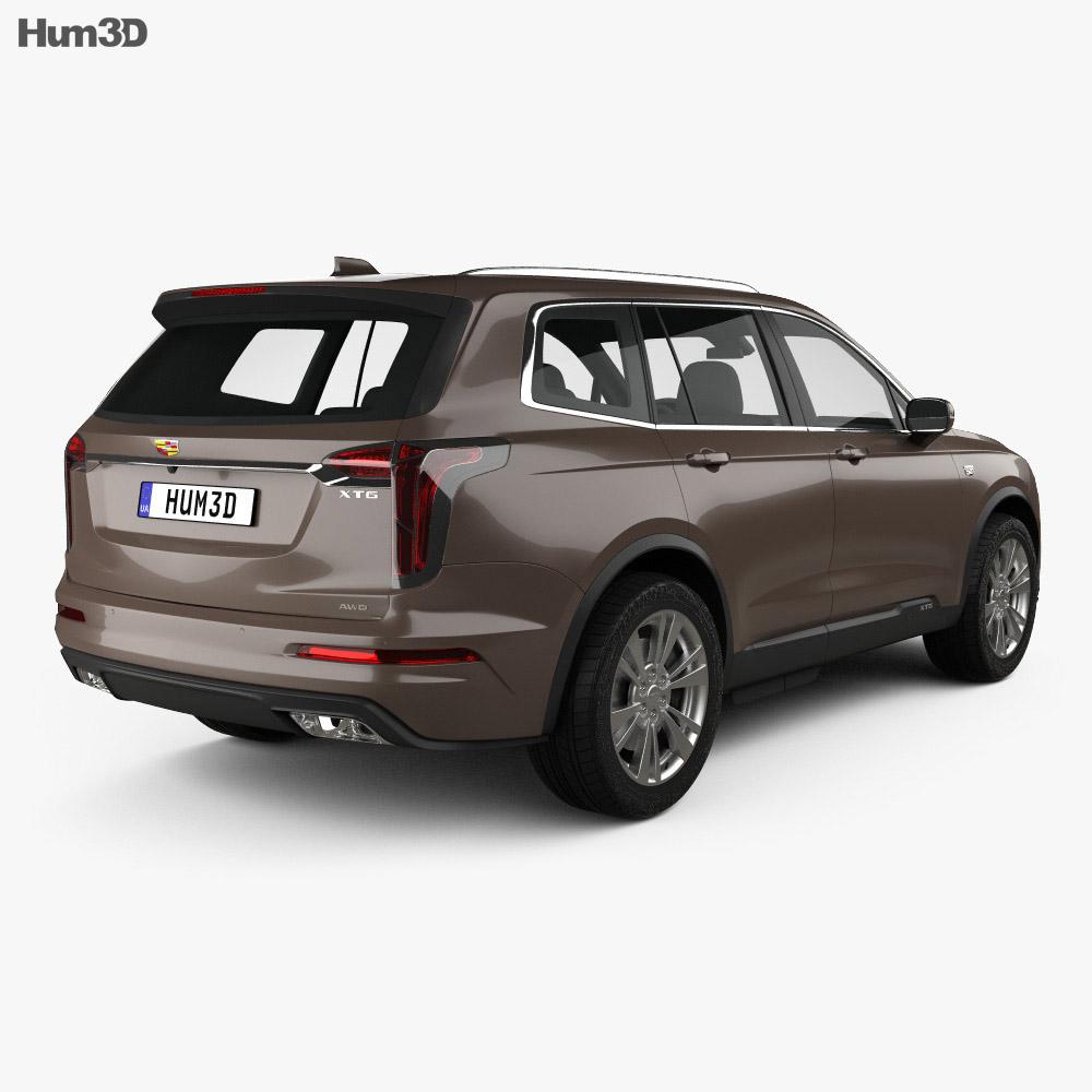Cadillac XT6 Luxury 2020 3d model