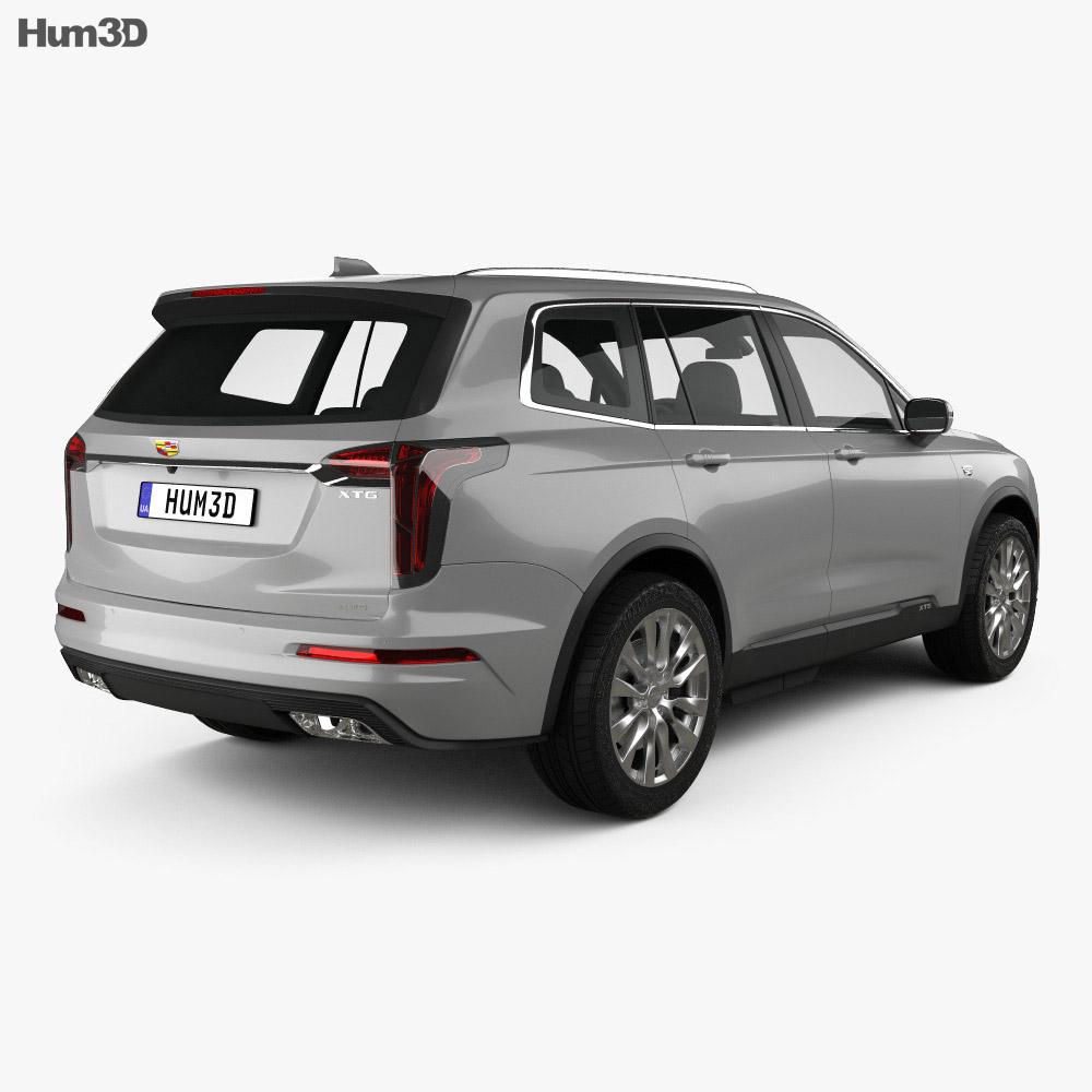 Cadillac XT6 Sport 2020 3d model