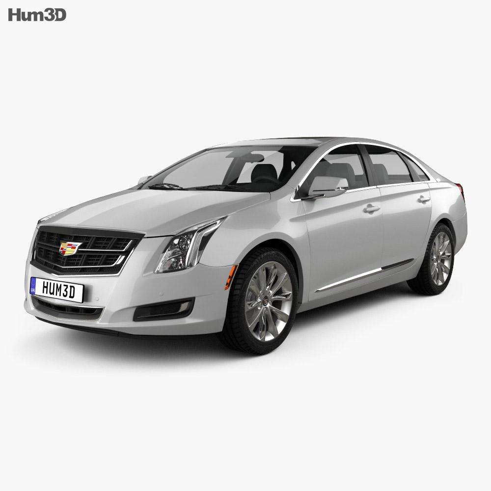 Cadillac XTS 2016 3d model