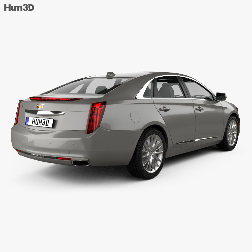Cadillac XTS Platinum 2017 3d model