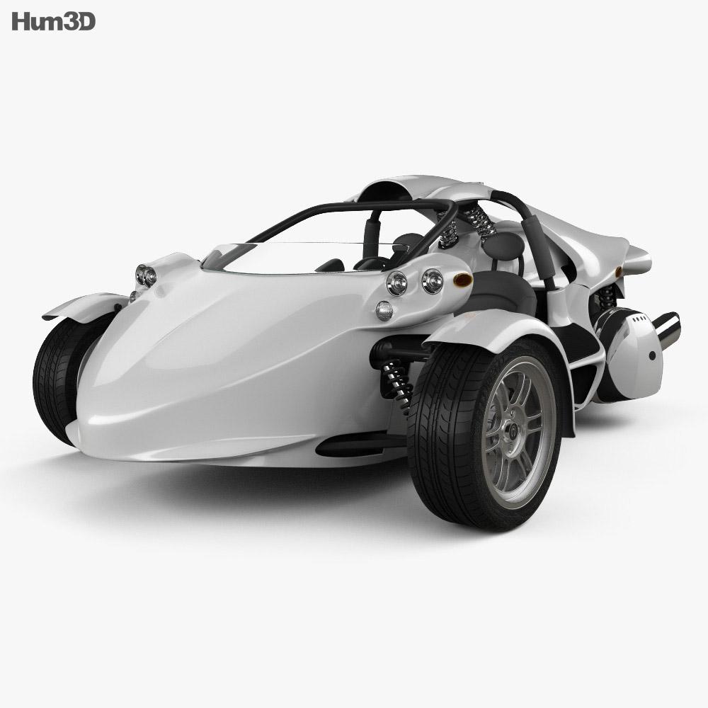 Campagna T-Rex 16S 2013 3d model