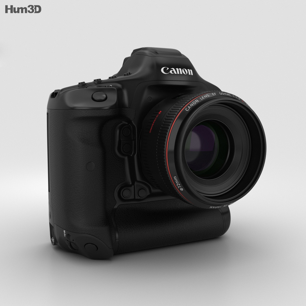 Canon EOS-1D X Mark II 3d model