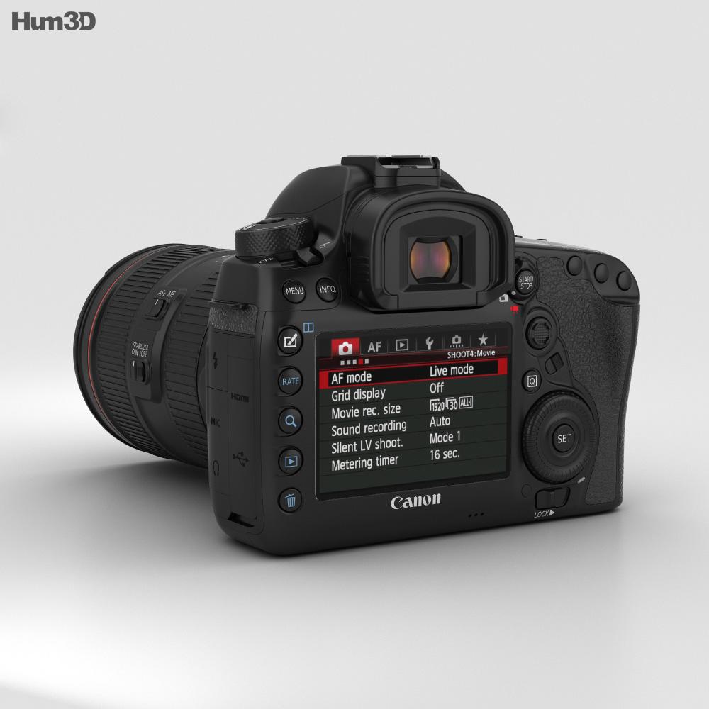 Canon EOS 5D Mark IV 3d model