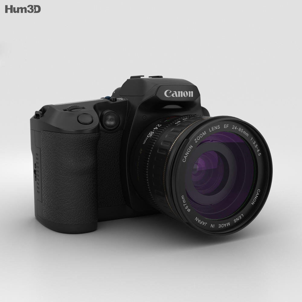Canon EOS D30 3d model