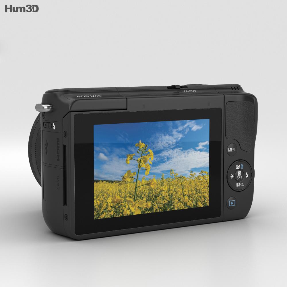 Canon EOS M10 Black 3d model