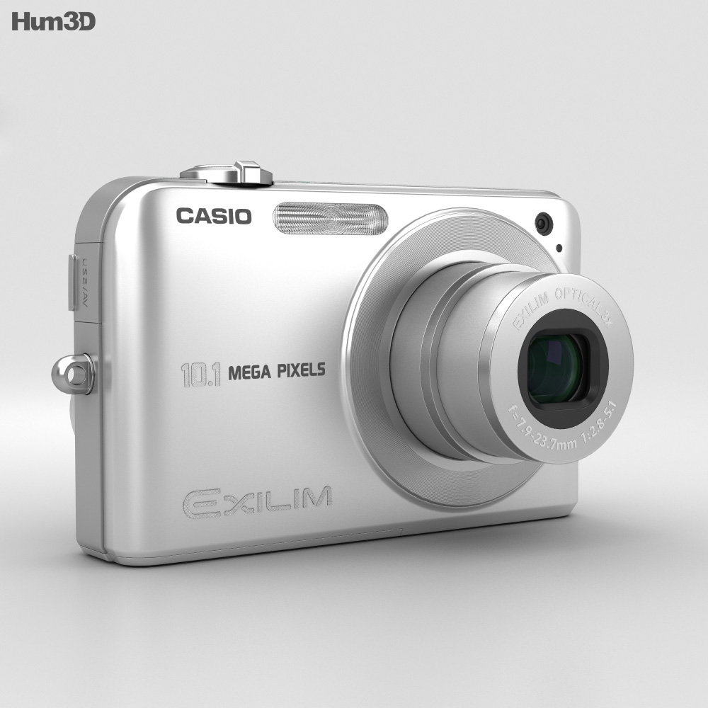 Casio Exilim EX- Z1050 Silver 3d model