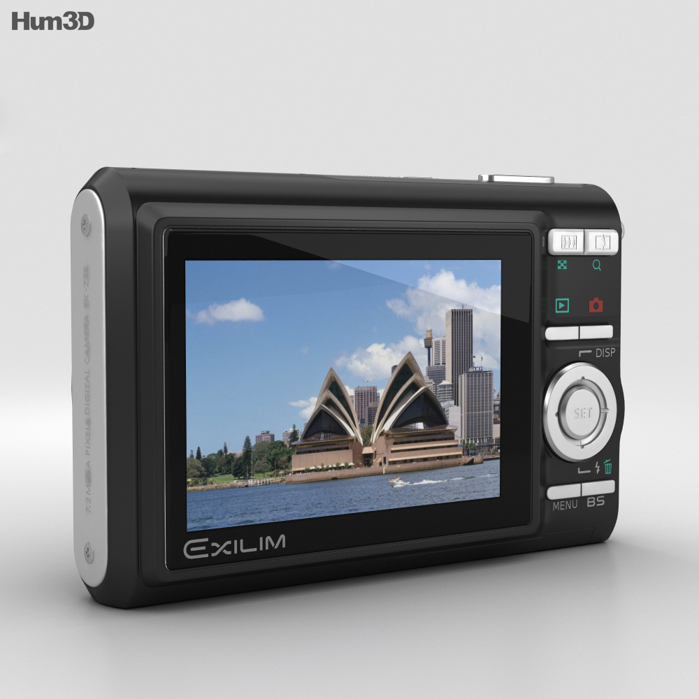 Casio Exilim EX-Z75 Black 3d model