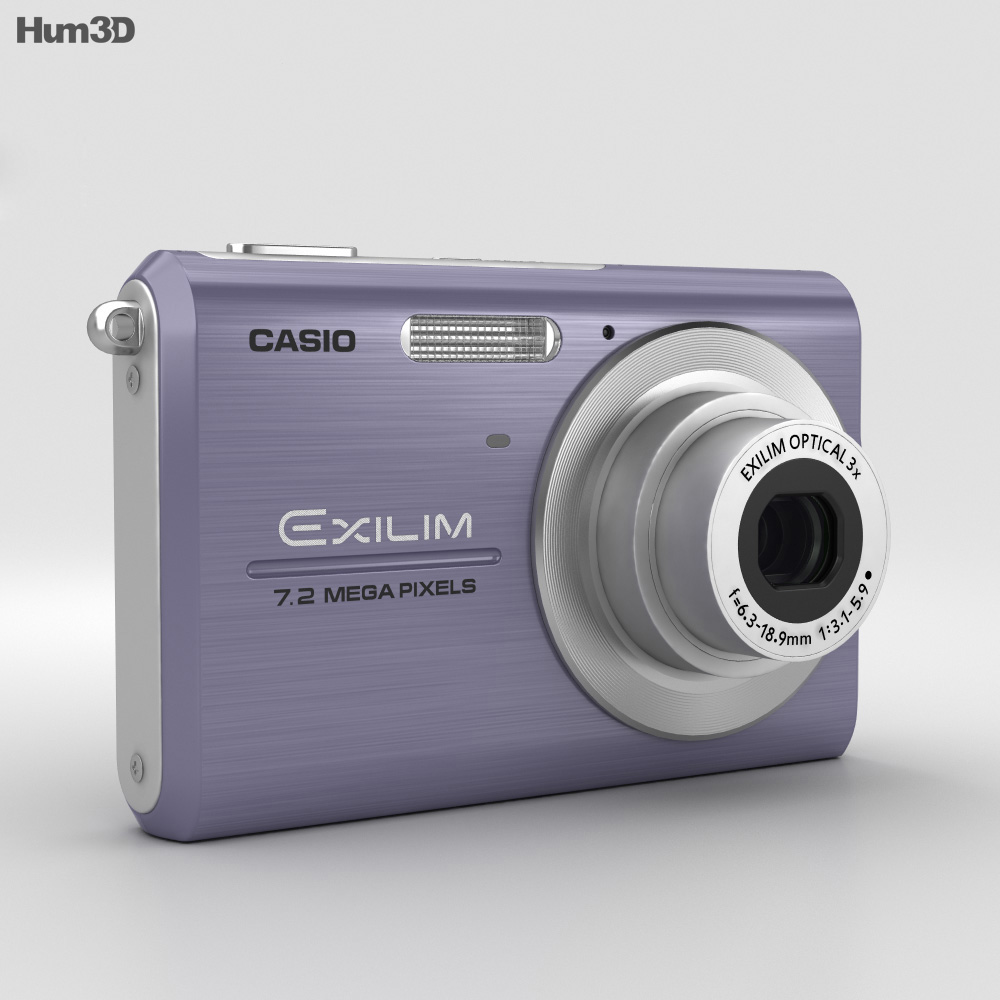Casio Exilim EX-Z75 Blue 3d model