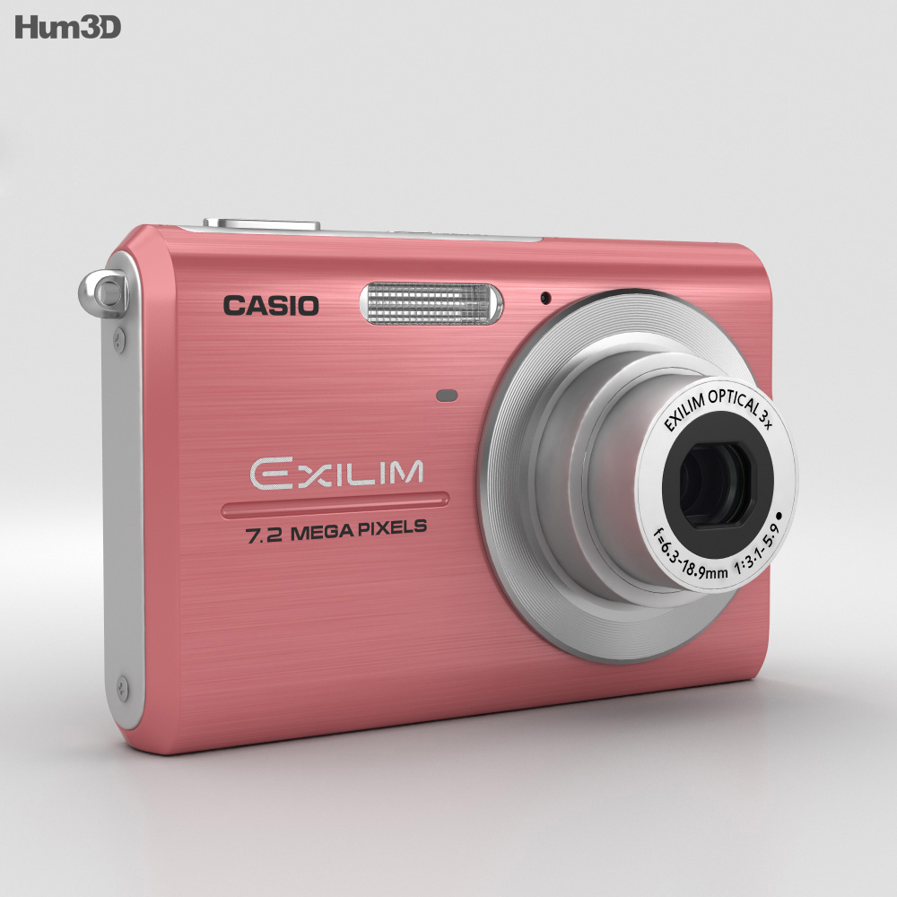 Casio Exilim EX-Z75 Pink 3d model