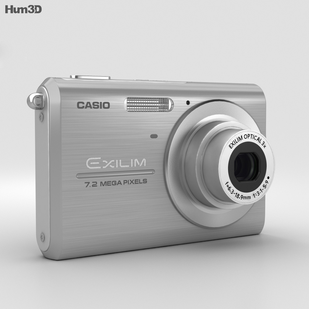 Casio Exilim EX-Z75 Silver 3d model
