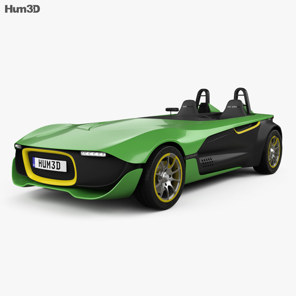 Caterham AeroSeven 2013 3d model
