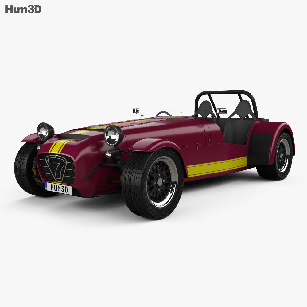 Caterham Seven 620R 2013 3d model