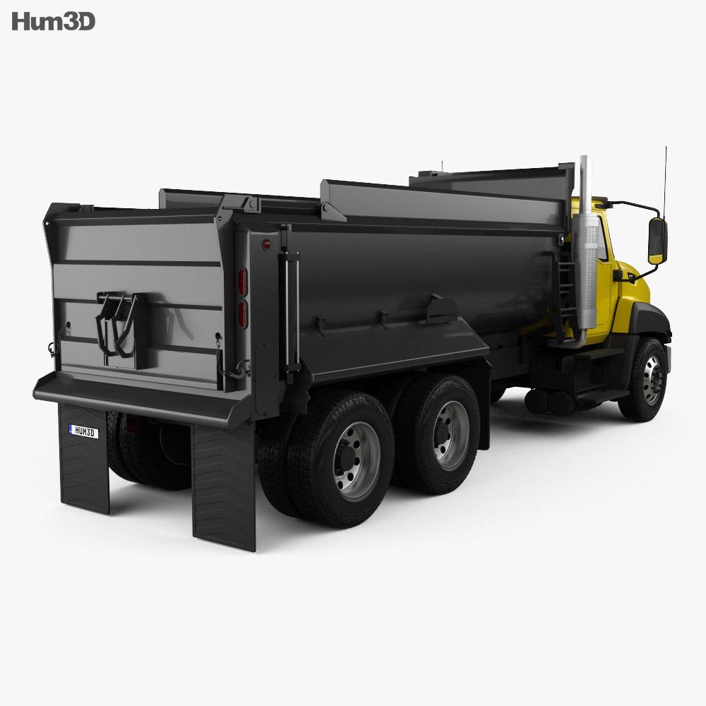 Caterpillar CT660 Dump Truck 2011 3d model