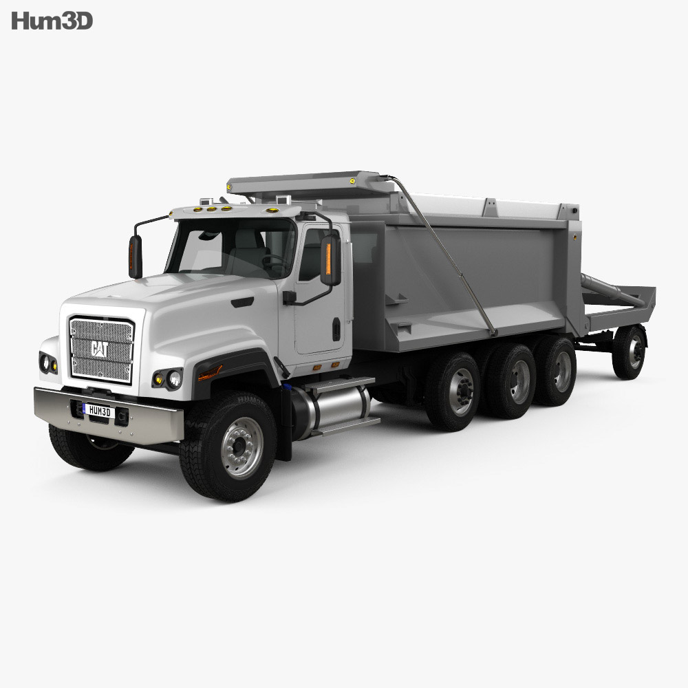Caterpillar CT681 Dump Truck  2014 3d model
