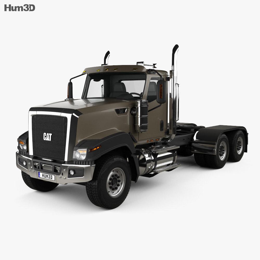 Caterpillar CT680 Tractor Truck 2015 3d model