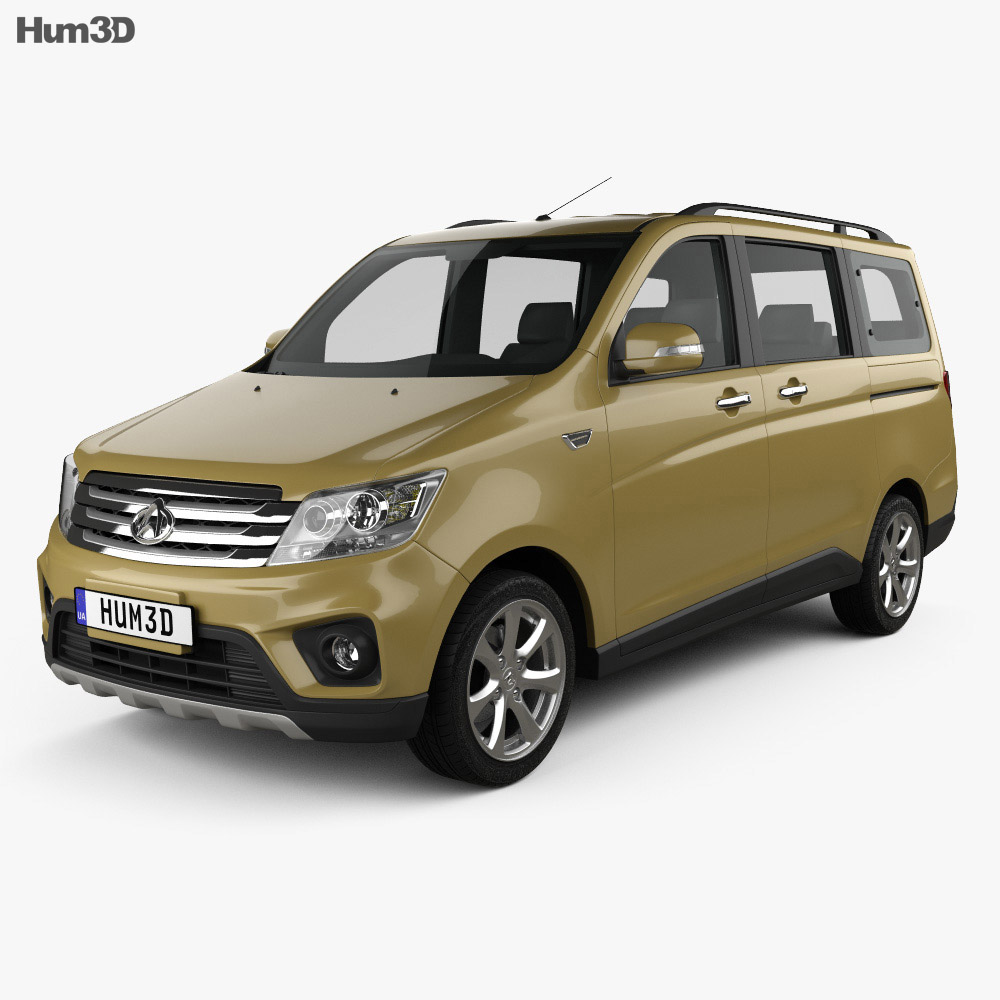Chana Honor Sport 2015 3d model