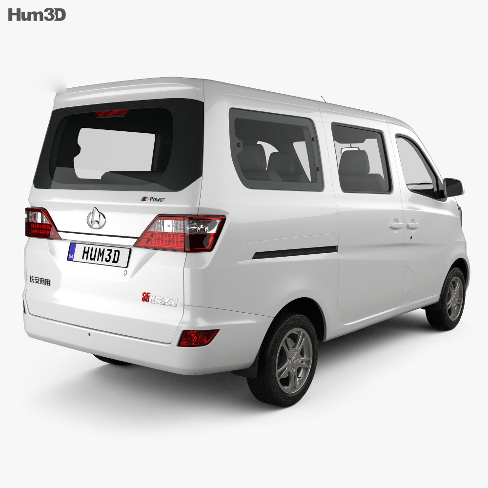 Chana Star Passenger Van 2013 3d model