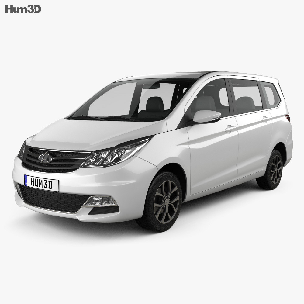 Changan Auchan 2015 3d model