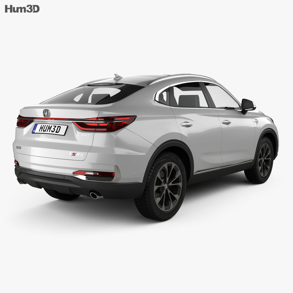 Changan CS85 Coupe 2019 3d model