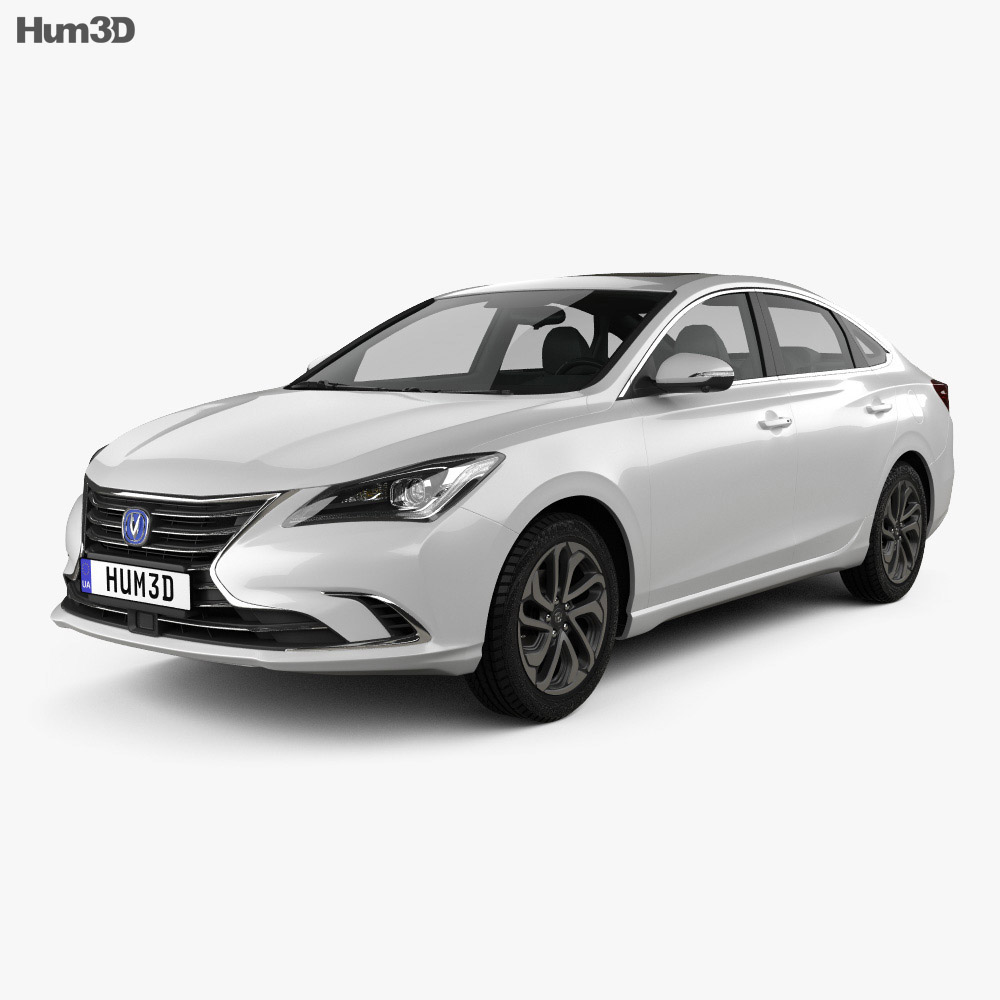Changan Eado 2018 3d model