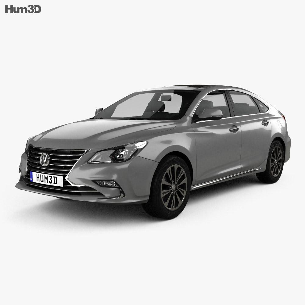 Changan Raeton CC 2017 3d model