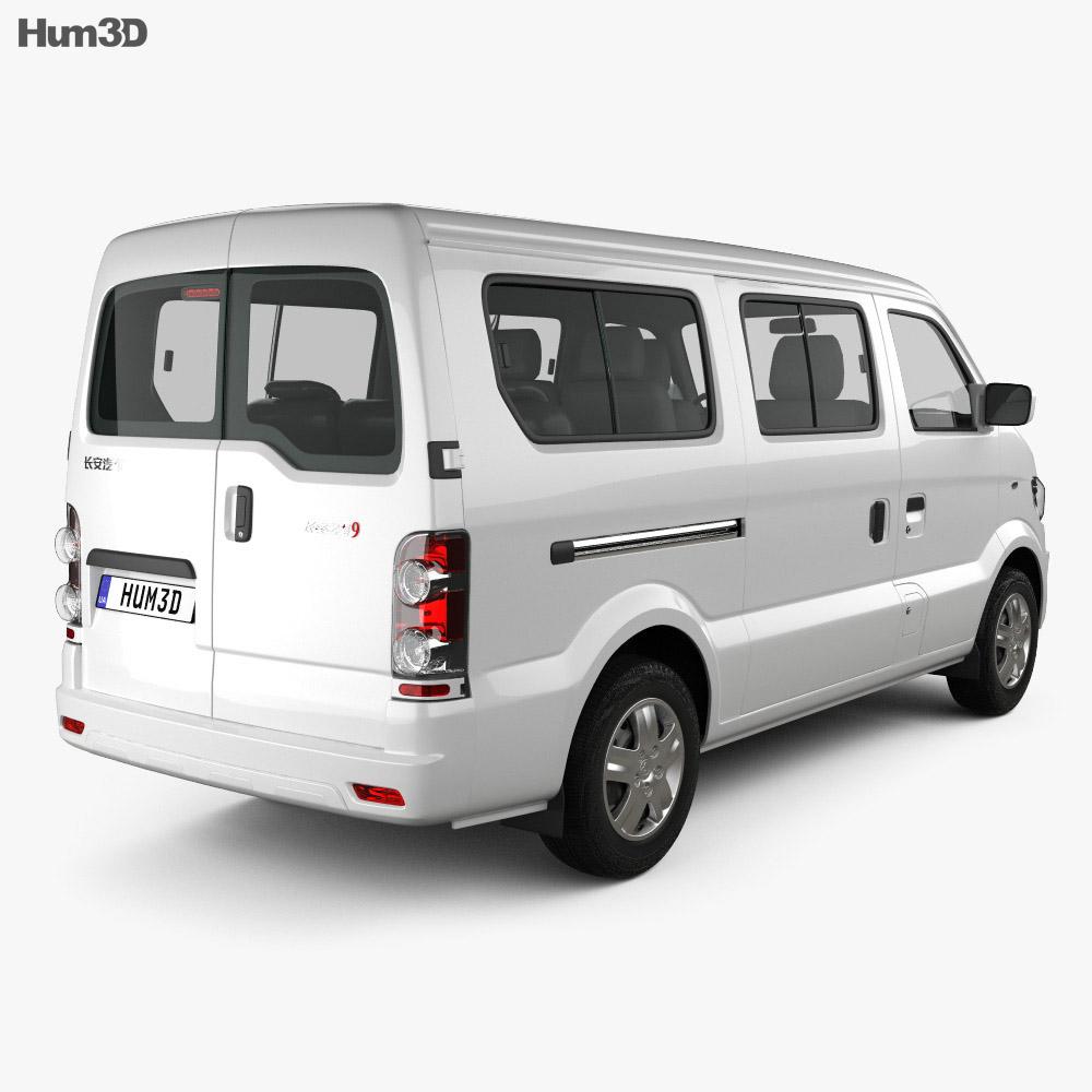Changan Star 9 2015 3d model