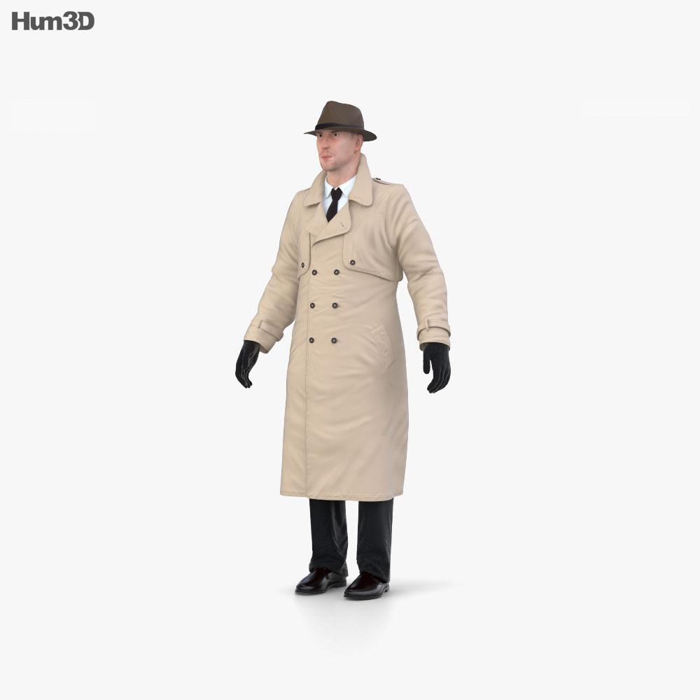 Detective 3d model