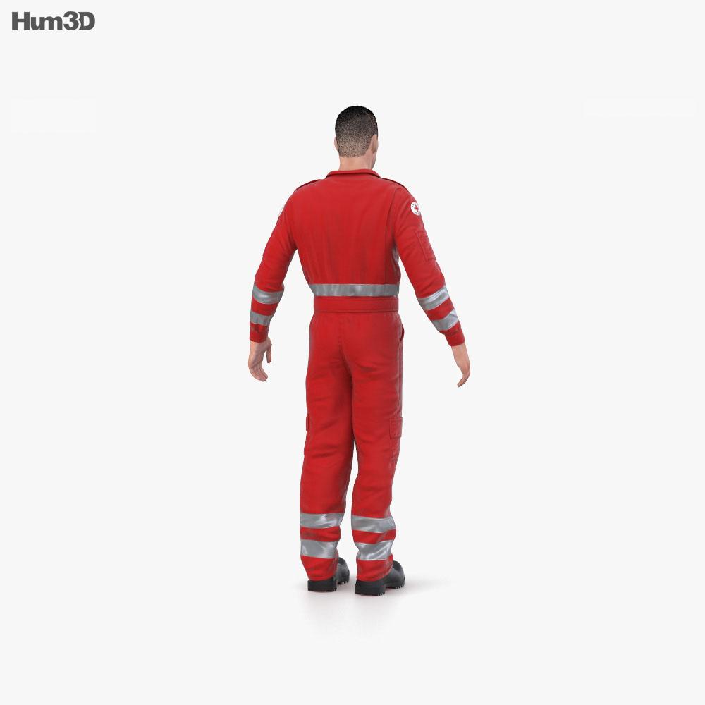 Paramedic 3d model
