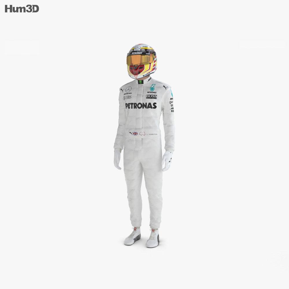 Racer 3d model