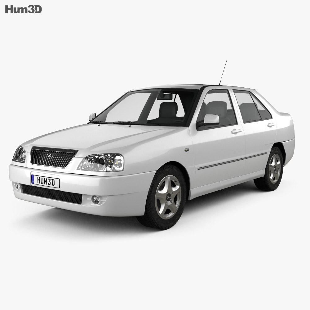 Chery A15 Cowin 2003 3d model