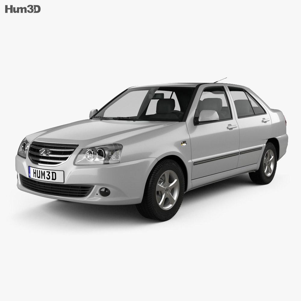 Chery Cowin 2 (A15) 2011 3d model